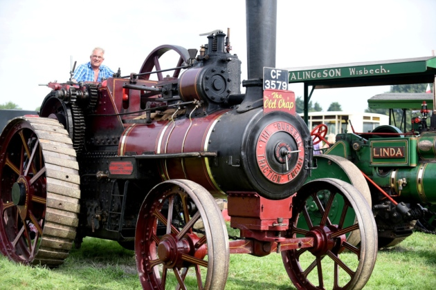 GLW Engineering At The 2020 March Steam & Vintage Show