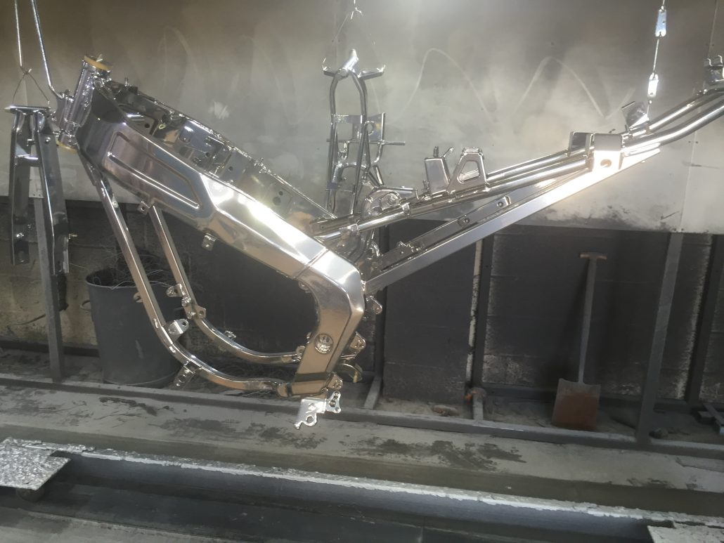 Why Powder Coating Is A Great Cost Effective Way To Refurbish Your Old Motorbike